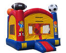 Deluxe Bounce House Sports W/Goal Spacewalk