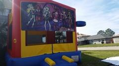 Deluxe Bounce House Monster High