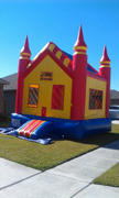Deluxe Bounce House  Castle with Goal Spacewalk