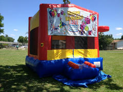 Deluxe Bounce House Happy Birthday