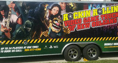 Rockin Rollin Video Game Truck Of New Orleans