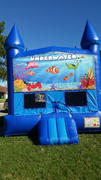 Deluxe Bounce House Nemo/ Blue/