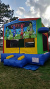 Deluxe Bounce House Crayon  Funhouse