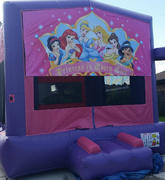Deluxe Bounce House  Disney Princess / Pink/