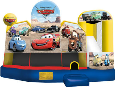 Cars Movie Theme 5 in 1 Combo Bouncer