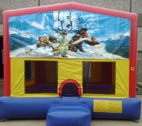 Ice Age Panel Bounce House