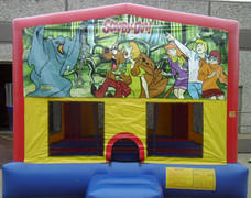 Scooby Doo Panel Bounce House