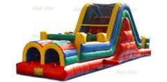 40ft Multi Color Obstacle Course