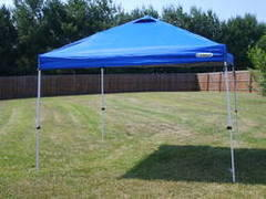 10 x10 easy up tent(blue)