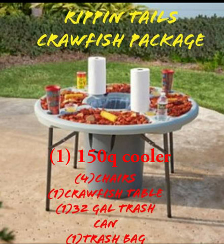 Rippin Tails Crawfish Package