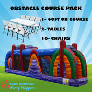 OBSTACLE COURSE PACKAGE