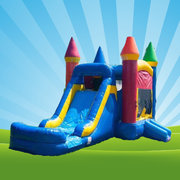 Castle Bounce House Combo