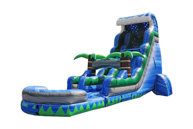 22' Blue Crush Slide - Wet