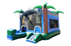 21 x 15 Bounce House Combo Unit with Slide