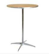 "30"" High Top Cocktail Tables"