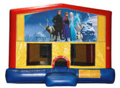 Frozen Plain Module Bounce House
