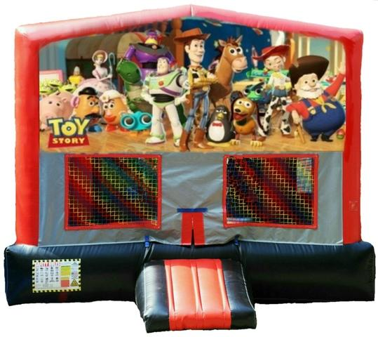 Toy Story Red/Black/Gray Bounce House