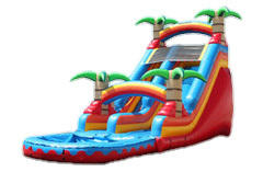 18 ft Red Tropical WaterSlide