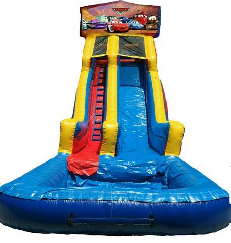 22 ft Module Disney Cars DRY Slide