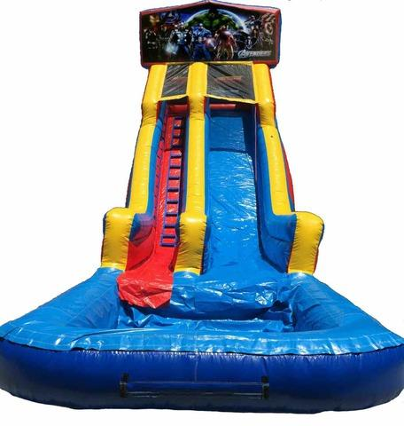 22 ft Module Avengers Waterslide