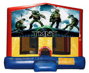 Teenage Mutant Ninja Turtles Plain Module Bounce House