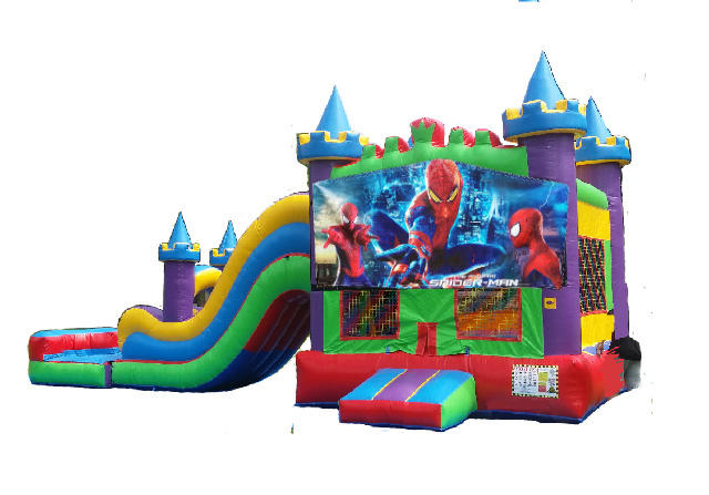 Spiderman King Castle Combo II Waterslide