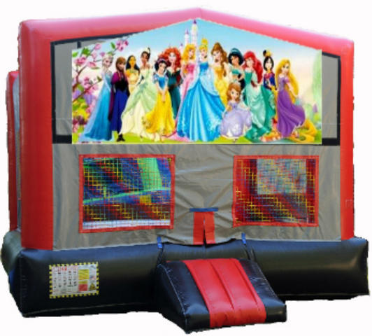 Disney Princess RBG Module Bounce House