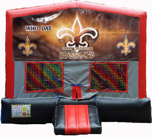 New Orleans Saints RBG Module Bounce House