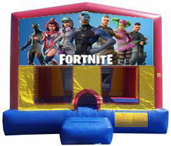 Fortnite Plain Module Bounce House