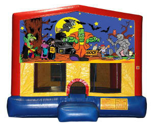 Halloween Plain Module Bounce House