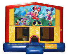 Minnie Mouse Plain Module Bounce House