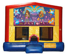 It's a Girl Thing Plain Module Bounce House