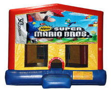 Super Mario & Luigi Plain Module Bounce House