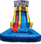 22 ft Module Mickey Mouse Waterslide