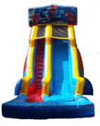 22 ft Module Spiderman Waterslide