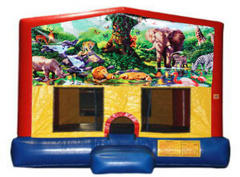 Jungle Plain Module Bounce House