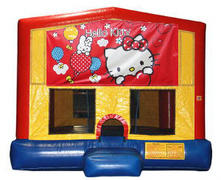 Hello Kitty Plain Module Bounce House
