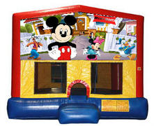 Mickey Mouse Plain Module Bounce House