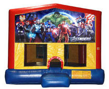 Avengers Plain Module Bounce House