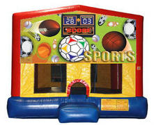 Sports Plain Module Bounce House