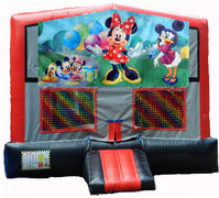 Minnie Mouse RBG Module Bounce House