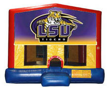 LSU Plain Module Bounce House