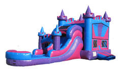Princess Castle Combo Waterslide