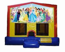 Disney Princess Plain Module Bounce House