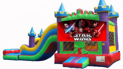 Star Wars King Castle Combo Waterslide