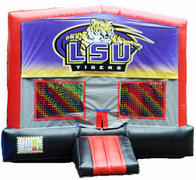 LSU Red/Black/Gray Module Bounce House