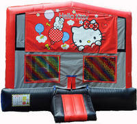 Hello Kitty Red/Black/Gray Module Bounce House