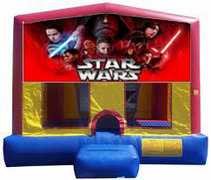 Star Wars Plain Module Bounce House