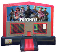 Fortnite Red/Black/Gray Module Bounce House