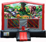 Jungle RBG Module Bounce House